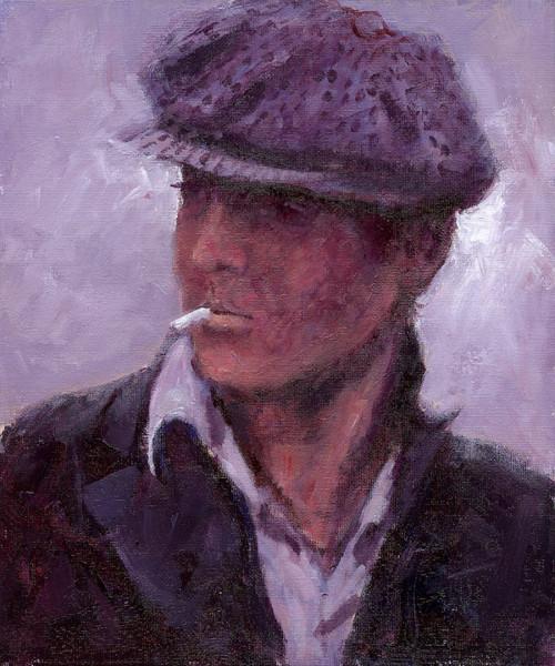 Bonnie Lad is an original oil painting by Alexander Millar.