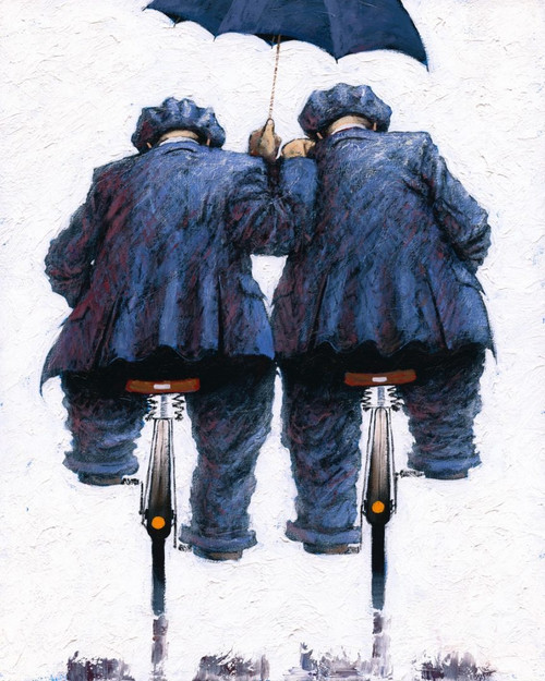 Under My Umbrella is a limited edition print of the painting by Scottish artist Alexander Millar.