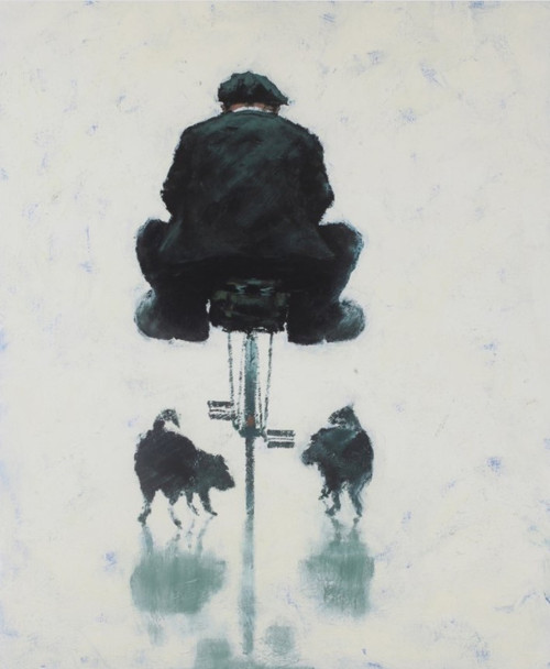 Ambushed is a rare, framed signed limited edition print of the painting of the same name by Alexander Millar.