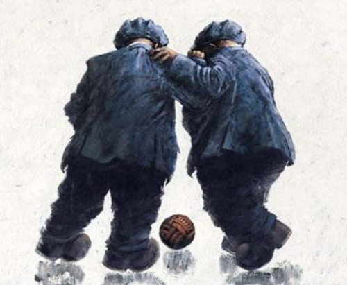 It's Ma Ba' is a rare, framed, signed limited edition print of the painting of the same name by Alexander Millar.