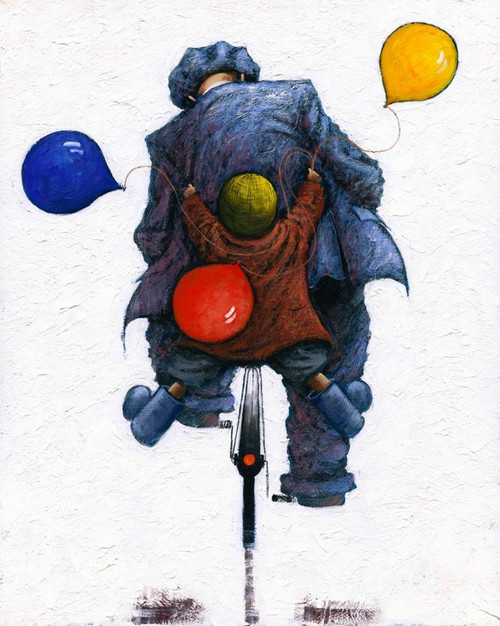 Hopes and Dreams is limited edition print of an original oil painting by Scottish artist Alexander Millar.