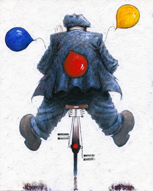 Happy Days is limited edition print of an original oil painting by Scottish artist Alexander Millar.