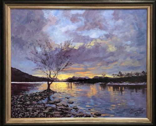 Winter Tranquility, Loch Lomond (Click & Collect)