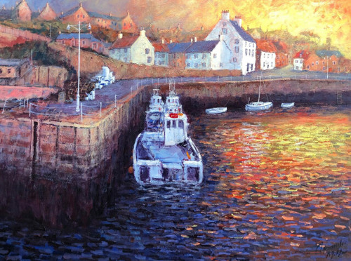 A New Day Dawns, Crail Harbour (Click & Collect)