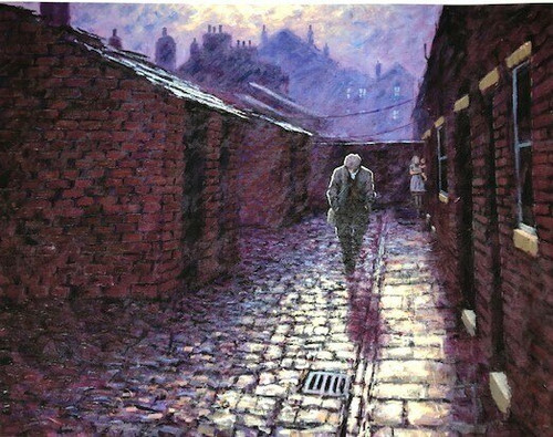 Come Home Soon is a signed limited edition print of the painting of the same name by Alexander Millar.