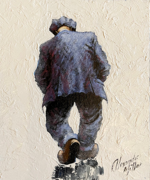 Me, Myself, I - is an original oil painting by Scottish artist Alexander Millar.