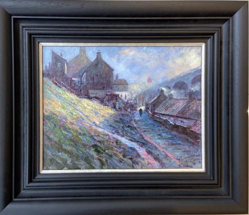 Morning Has Broken is a framed, original oil painting by Alexander Millar.
