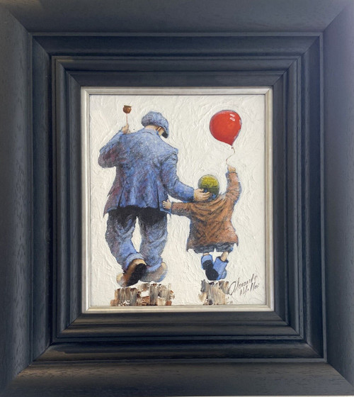 All the Fun of the fair is an original oil painting by Alexander Millar.
