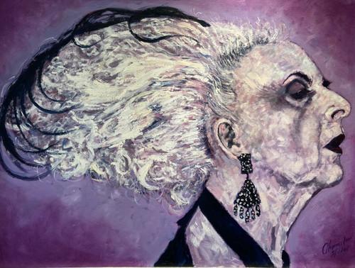 Portrait of Quentin Crisp is an original oil painting by Alexander Millar.