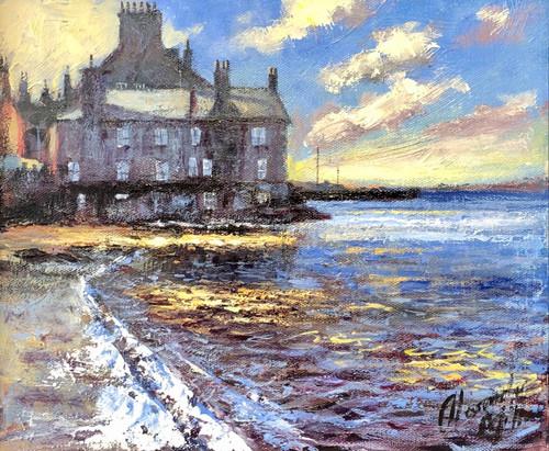 Sunlit Shores, Lerwick