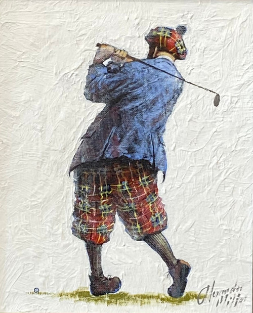 Middle For Diddle is an original oil painting by Scottish artist Alexander Millar