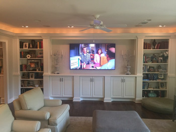 "Tilt or Flat Wall TV Installation (TV up to 65"")"