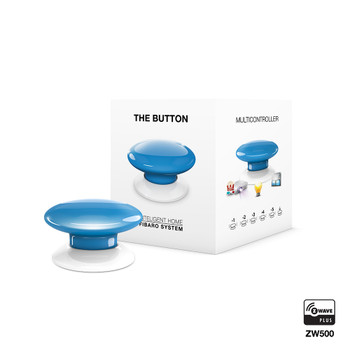 Fibaro Z-Wave Button Blue