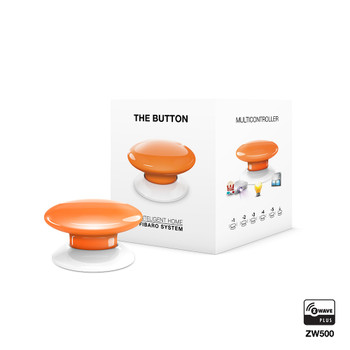 Fibaro Z-Wave Button Orange