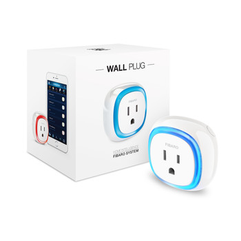 FIBARO Z-Wave Plus Wall Plug Switch Without USB (Z-Wave Repeater)
