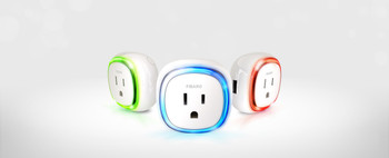 FIBARO Z-Wave Plus Wall Plug Switch With USB Charger Plug