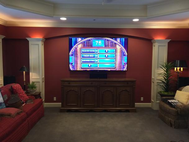 Custom TV Installation