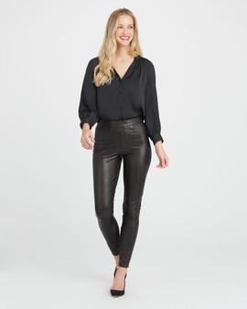 Leather-like Skinny Pant