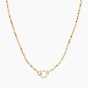 Parker Bead Necklace - Gold