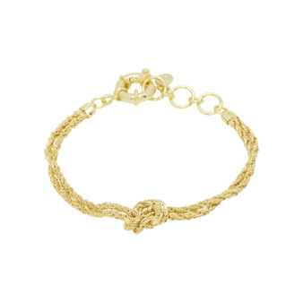 Fiore Knot Bracelet - Gold
