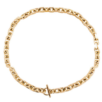 Alexis Toggle Chain Necklace - Gold