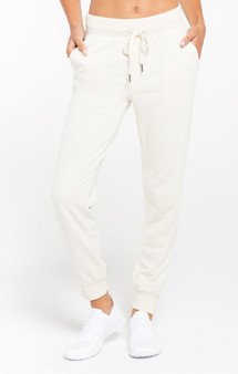 Cypress Loop Terry Jogger - Bone