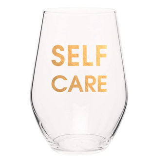 Wine Glass Self Care