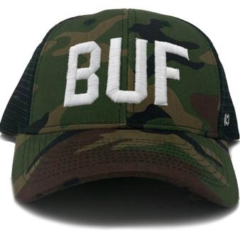 BUF Camo Trucker Hat