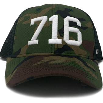 716 Camo Trucker Hat