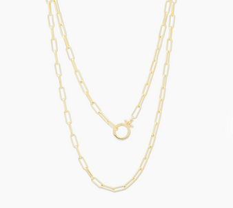 Parker Wrap Necklace - Gold