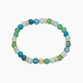Power Gemstone Mantra Bracelet - Passion