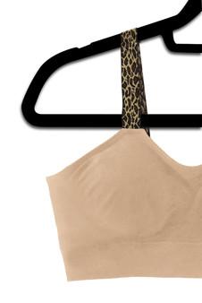 Leopard - Nude Bra