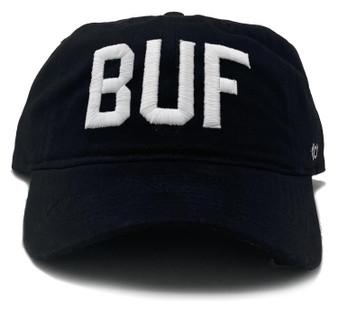 BUF Black Cotton Hat