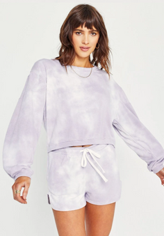Under The Sun Sweatshirt - Frosted Violet
