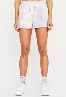 Under The Sun Shorts - Frosted Violet