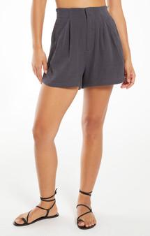 Acres Gauze Shorts - Washed Black
