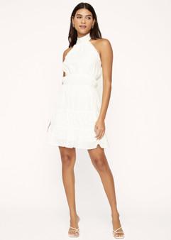 Hoku Hawaii Mini Dress - White