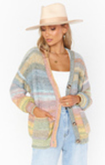 Callie Cardigan - Outdoor Ombre Knit