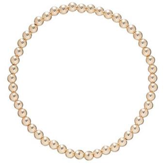 Classic Gold 4mm Bracelet