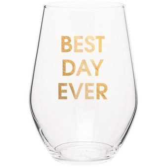 Wine Glass Best Day Ever