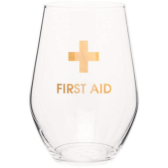 Wine Glass First Aid