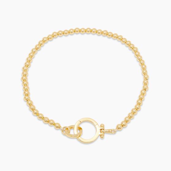 Parker Bead Bracelet - Gold