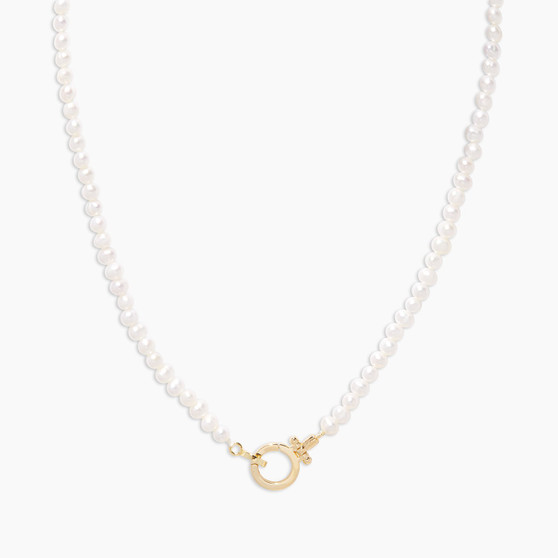 Parker Pearl Necklace - Gold