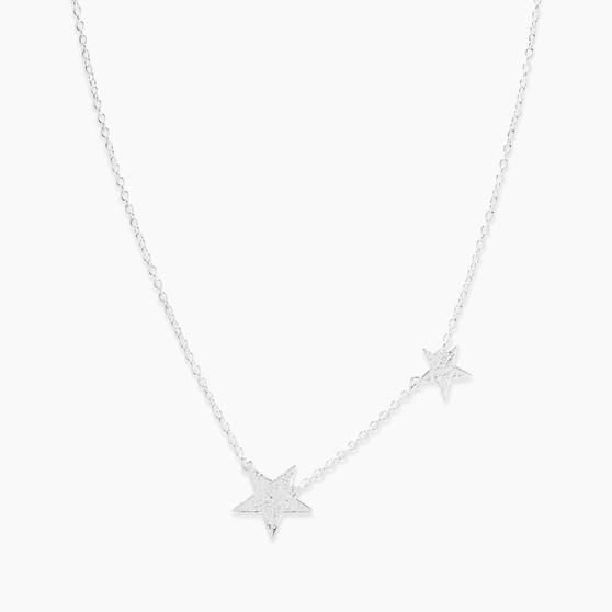Super Star Necklace - Silver