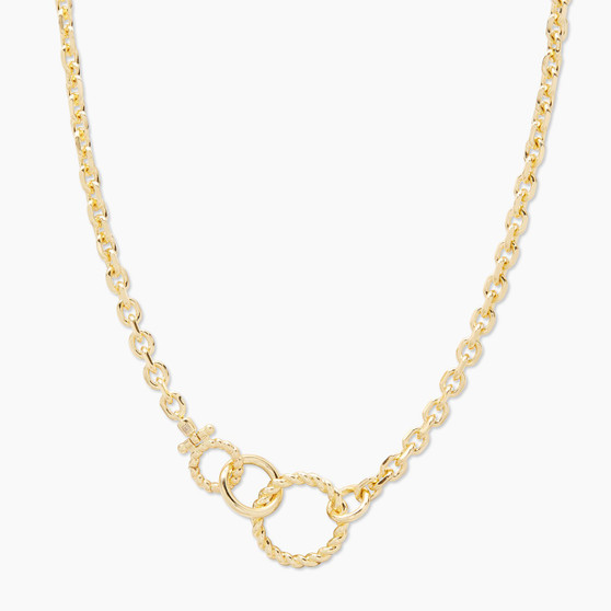 Crew Link Necklace - Gold
