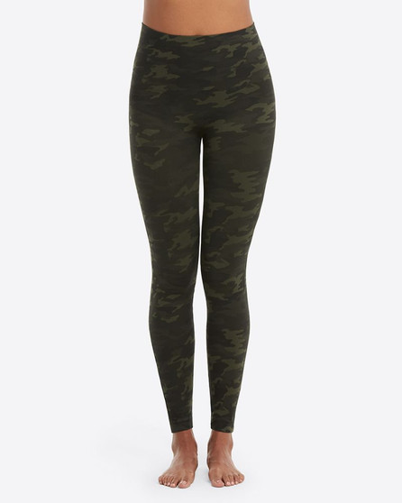 Look At Me Now Leggings - Green Camo