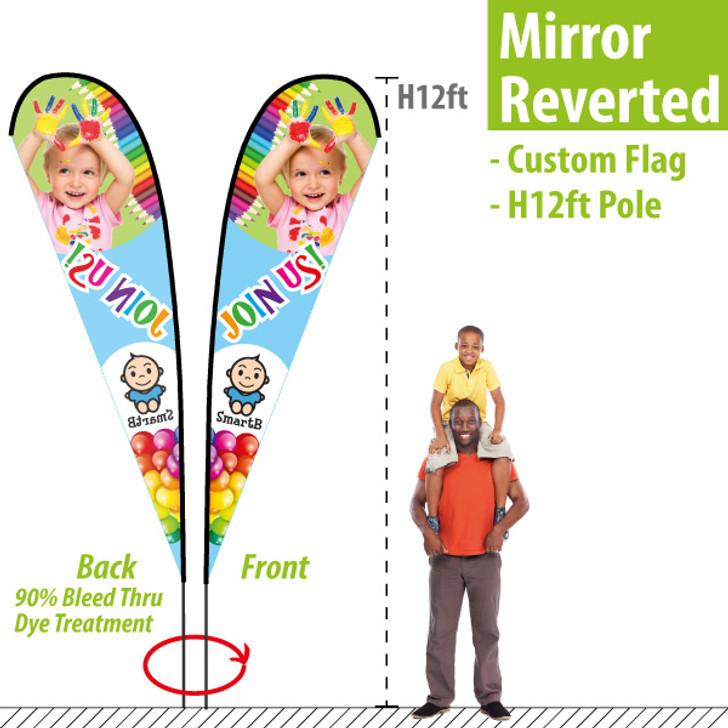 H12ft Teardrop Banner (mirror reverted back)
