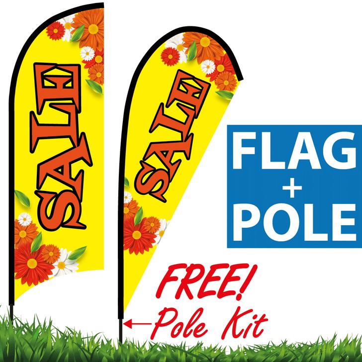 Florist Banner - Flower Shop Feather Flag (for SALE!)