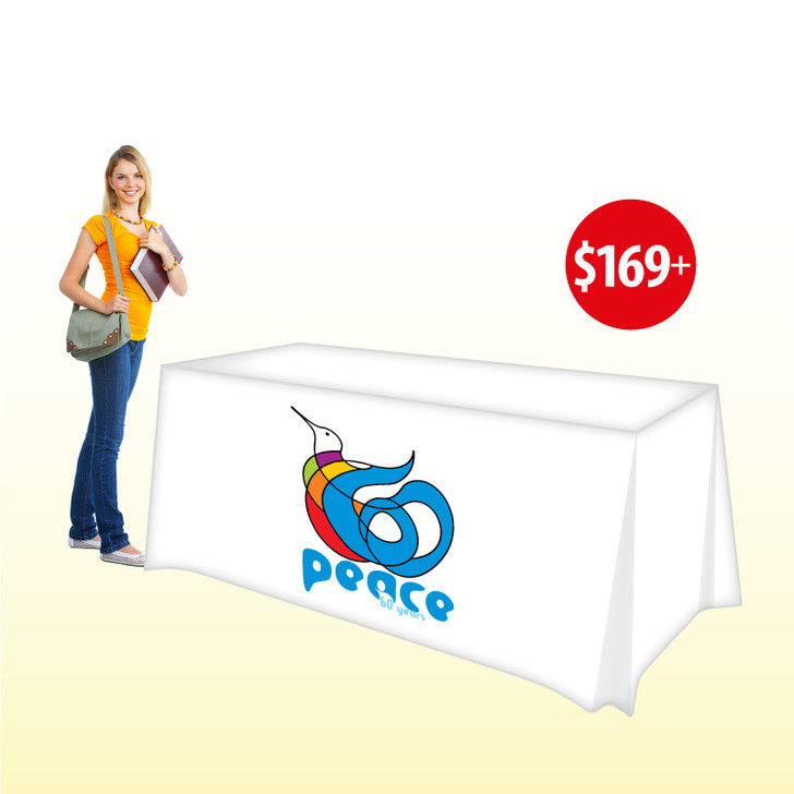 Trade Show Table Covers - Custom 6'