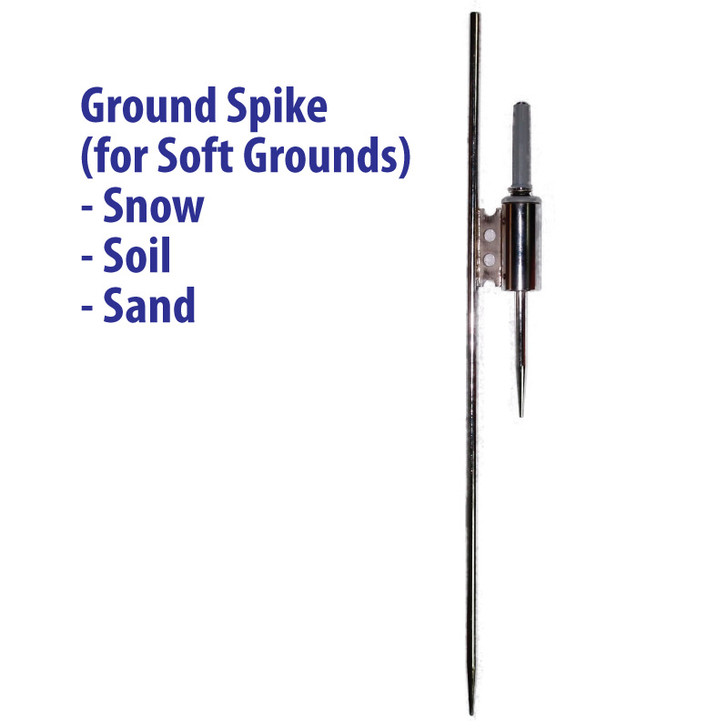 Ground Spike - Base Stand for Teardrop Banner Pole